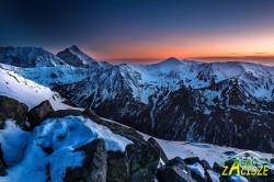 Tatry po zachodzie słońca