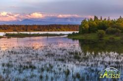 Jezioro Orawskie wiosną